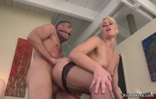 Milf tied partyguy and torments