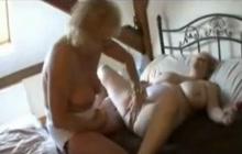British strapon grannies have fun